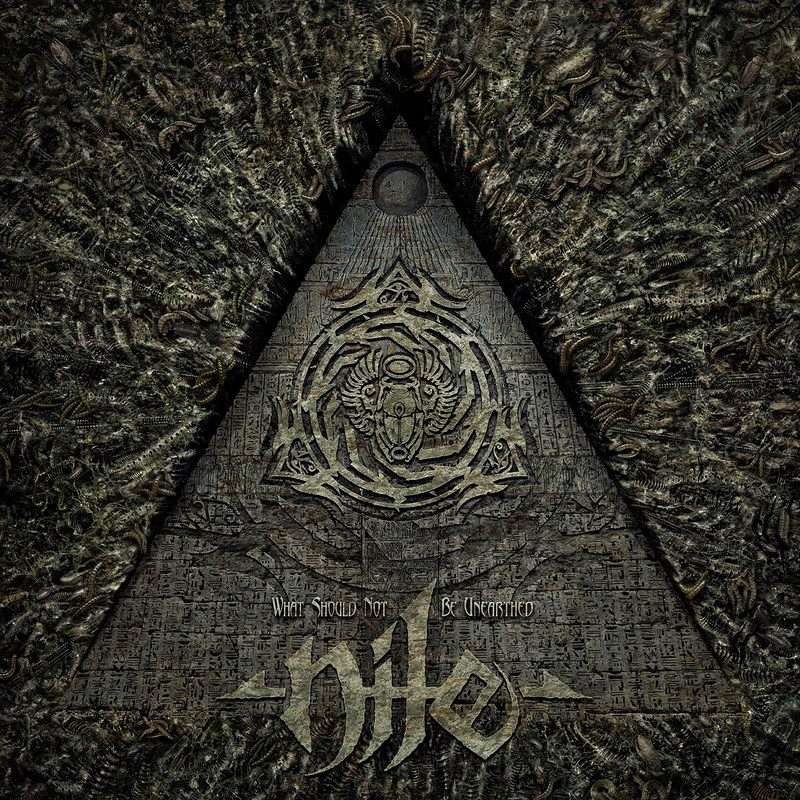 Nile - What Should Not Be Unearthed - Artwork (Копировать)