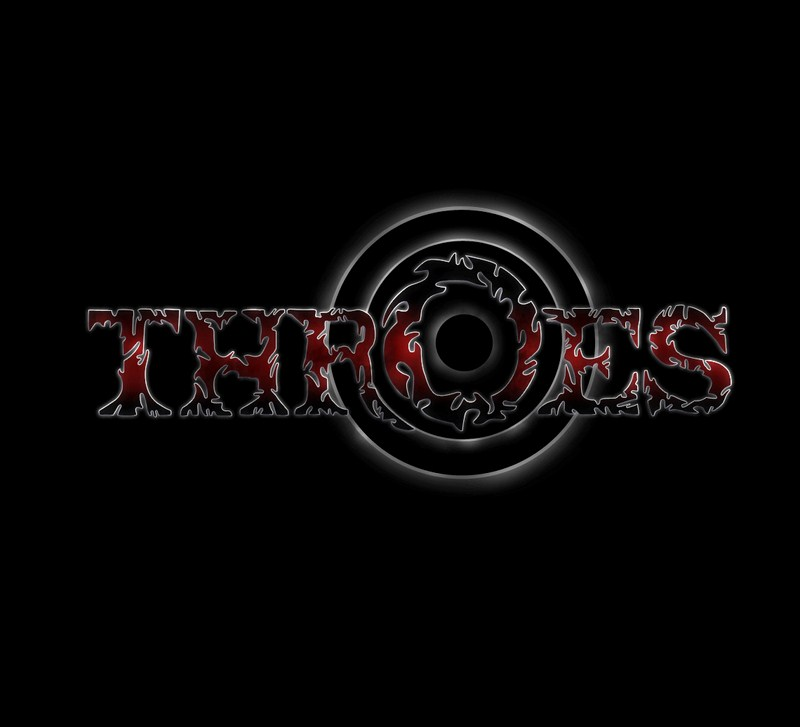 Throes logo red