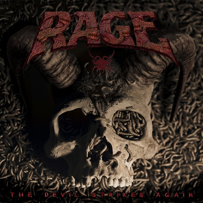 Rage - The Devil Strikes Again - Artwork