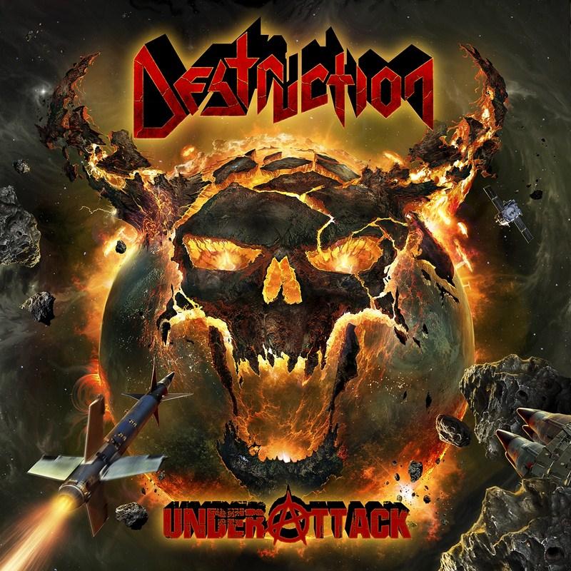 Destruction - Under Attack - Artwork