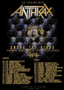 anthraxtour
