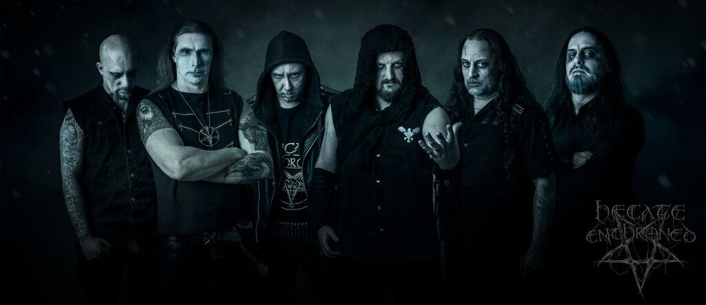 HECATE ENTHRONED Signs With M-Theory Audio