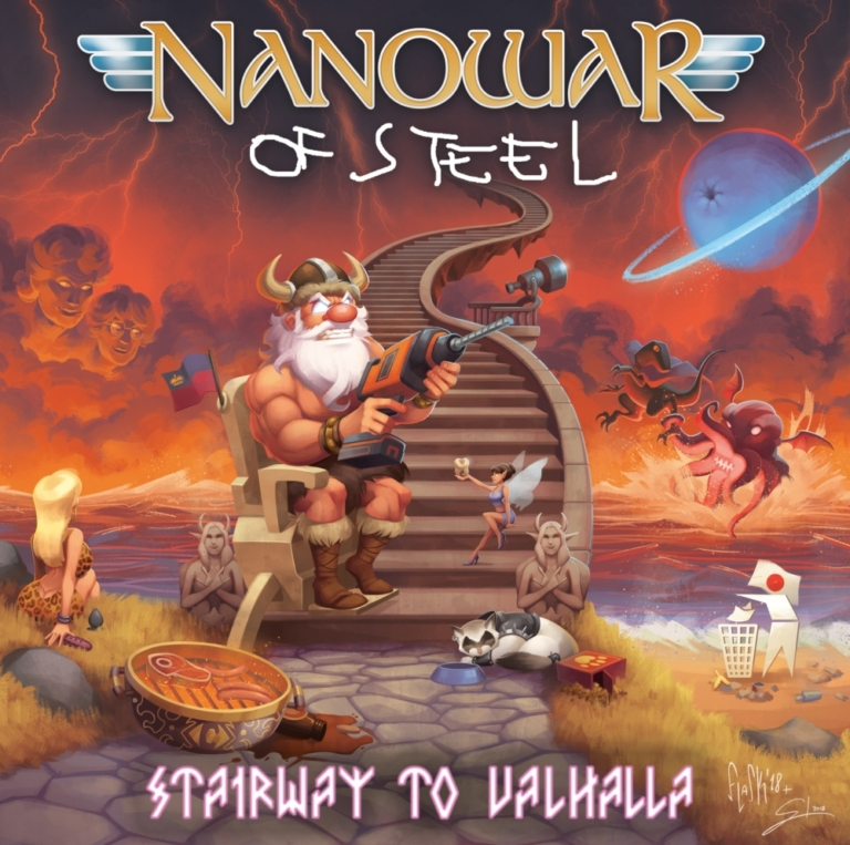 Review: Nanowar Of Steel Stairway To Valhalla [Self