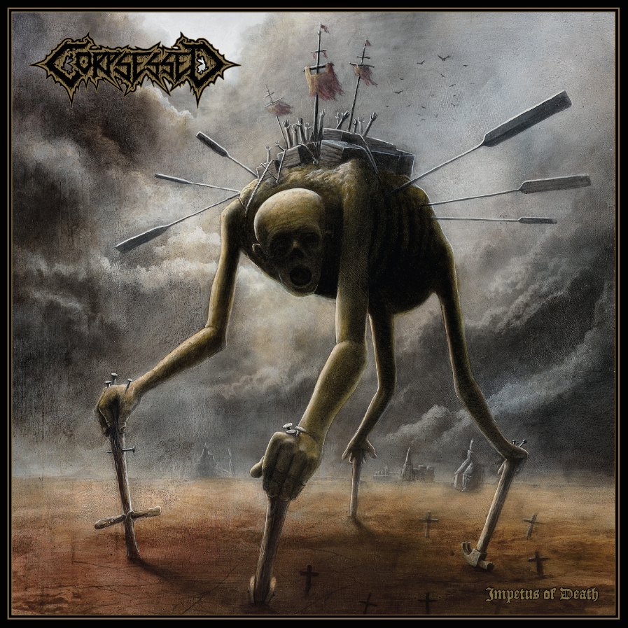 """Review: CORPSESSED """"Impetus Of Death"""" [Dark Descent Records]"""