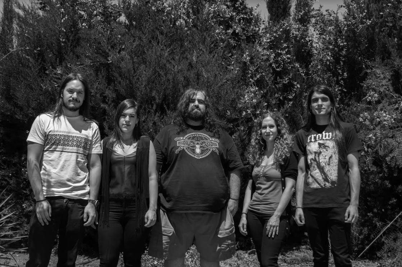 Gravehuffer Crust/Punk/Doom metal band presentation + stream