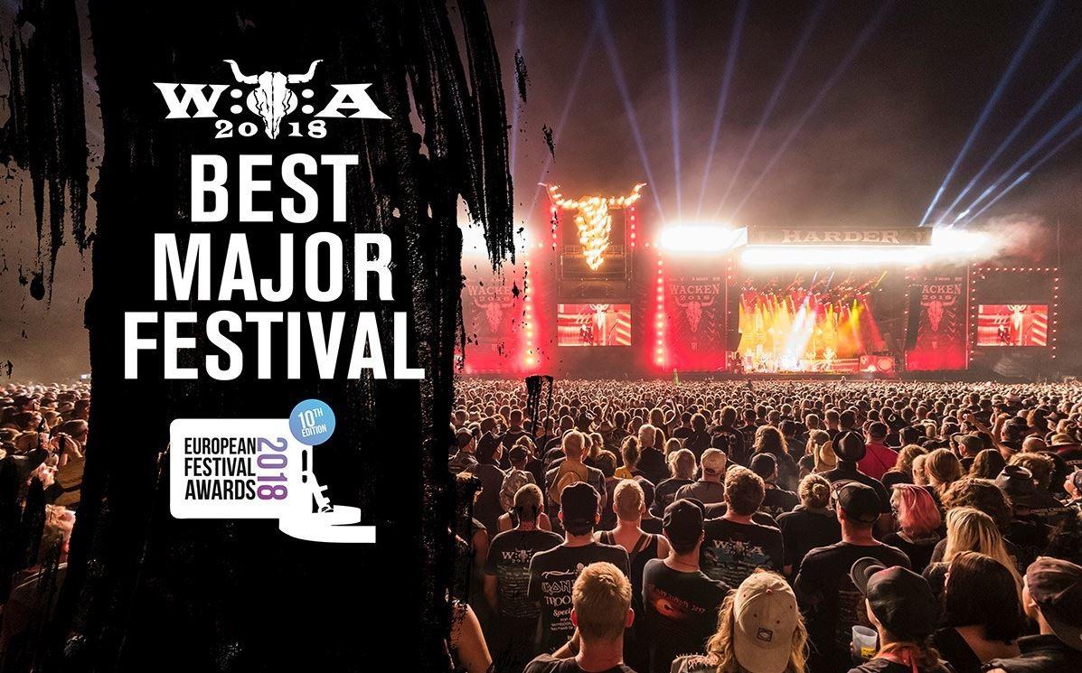 Wacken Open Air wins European Festival Award
