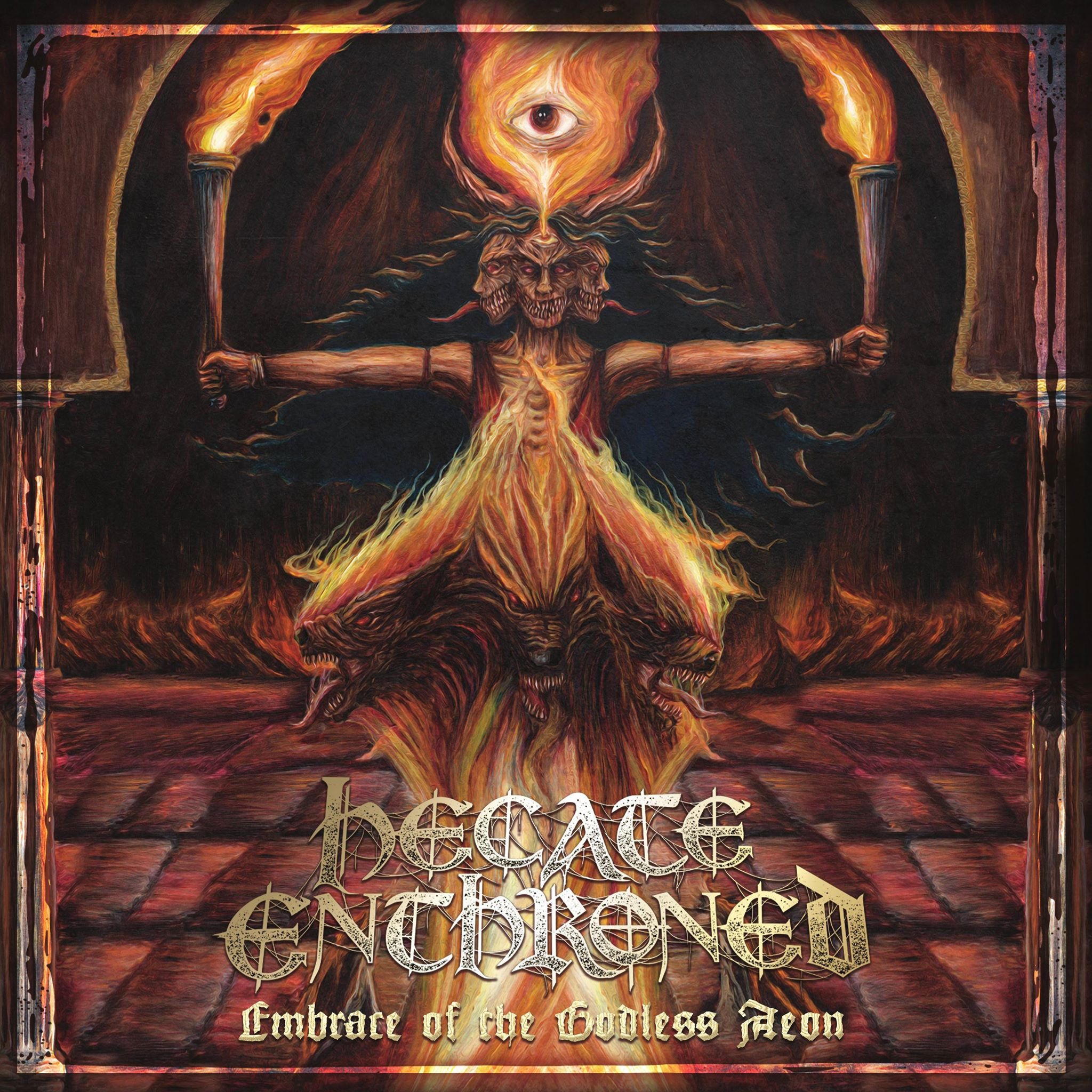 """Review: Hecate Enthroned """"Embrace Of The Godless Aeon"""" [M-Theory Audio Records]"""