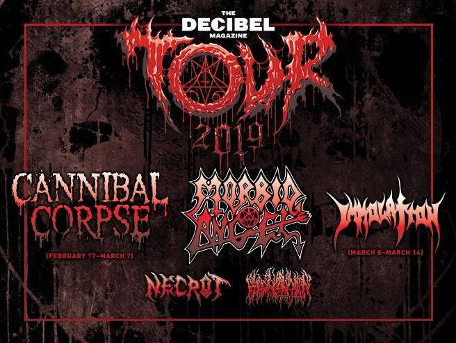 Gig review: Cannibal Corpse, Morbid Angel, Necrot, Blood Incantation @ Decibel Tour 2019 @ PlayStation Theater, New York, March 7th 2019
