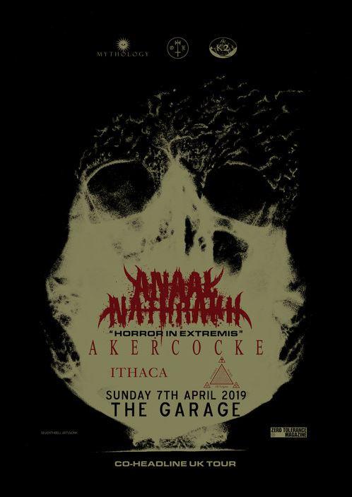 Gig report: Anaal Nathrakh + Akercocke @ The Garage, London l April 7th, 2019