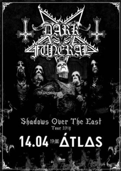 Gig report: Dark Funeral @ April 14th, 2019 | Kyiv, Ukraine