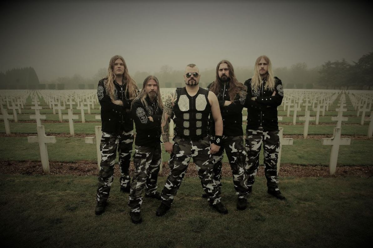 Interview: Pär Sundström from Sabaton