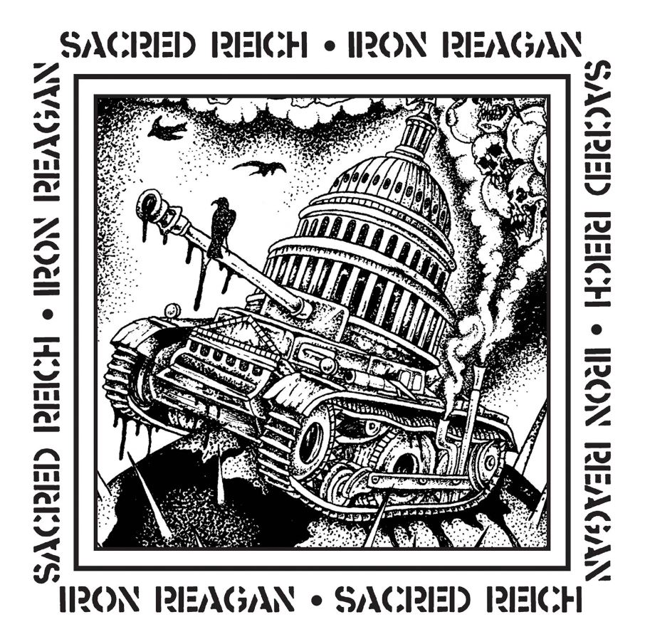 Review: Sacred Reich / Iron Reagan Split [Metal Blade Records]