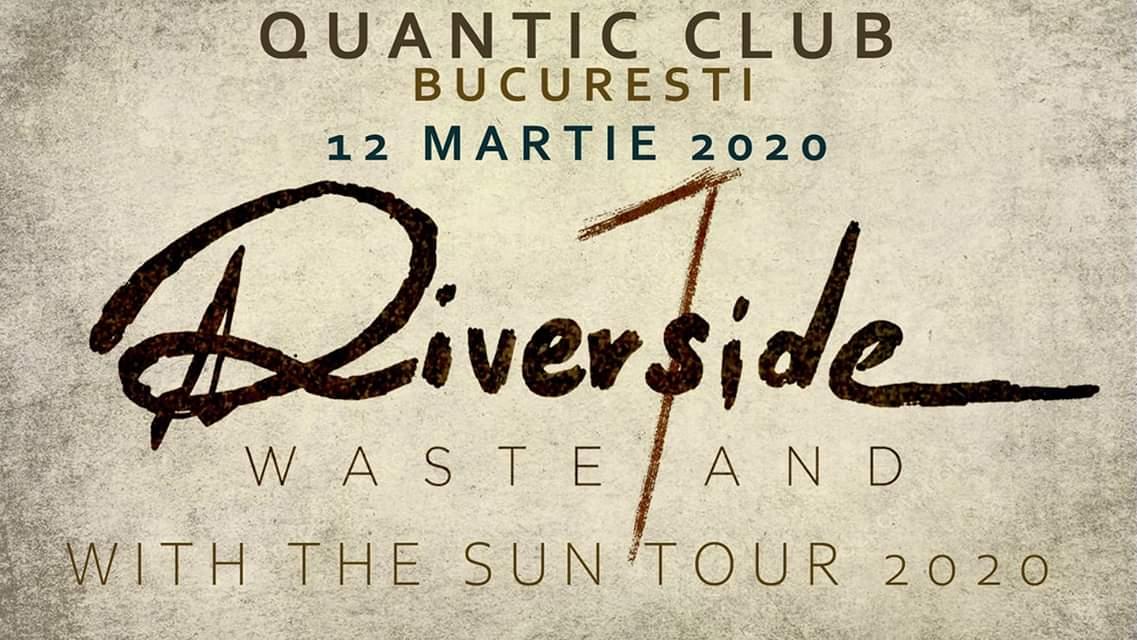 Riverside Live At Quantic club-Bucharest